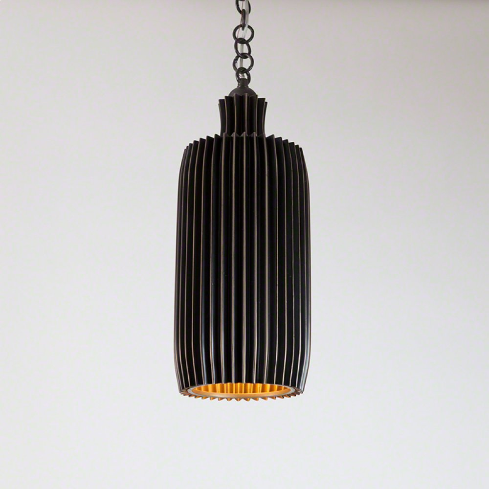 Crimp Bar Pendant-Bronze