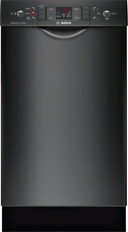"ADA 18"" 300 Series Recessed Hndl, 4/4 Cycles, 46 dBA, RckMatic, 9 Pl Stgs - BL"