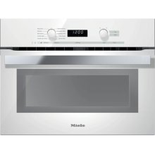 "24"" H 6200 BM PureLine Brilliant White DirectSelect Speed Oven"