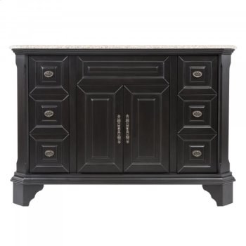 Single 48 in. W Mahogany Birch with MDF Vanity Product Image