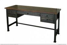 Writing Desk, Reclaimed black finish