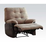 Camel Glider Recliner Product Image