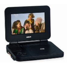 "Portable DVD Player with 7"" LCD screen"