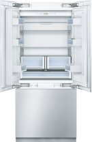 "Benchmark 36"" Built-in Custom Panel French Door Bottom Freezer Product Image"