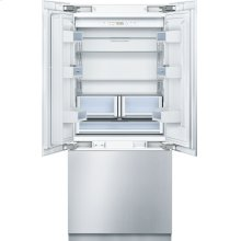 "Benchmark 36"" Built-in Custom Panel French Door Bottom Freezer"