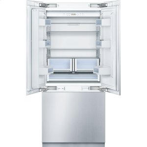 "BOSCHBENCHMARK SERIESBenchmark 36"" Built-in Custom Panel French Door Bottom Freezer"