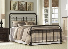 Kirkland Queen Bed Set - Dark Bronze