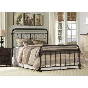 Kirkland Queen Bed Set - Dark Bronze