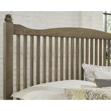 Queen Slat Bed with available storage