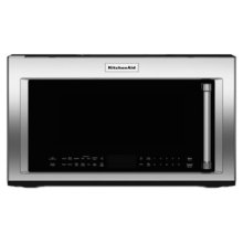 1000-Watt Convection Microwave Hood Combination - Stainless Steel - SPECIAL FLOOR DISPLAY CLEARANCE # 572459