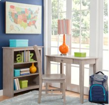 Student Desk Taupe Gray (Shown with 1C09-10B)