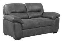 Nelson - Loveseat Charcoal-dixie Seal