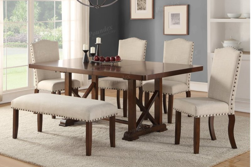F2398DIN in by Packages in Phoenix, AZ - Elegant 6 Piece Dining ...