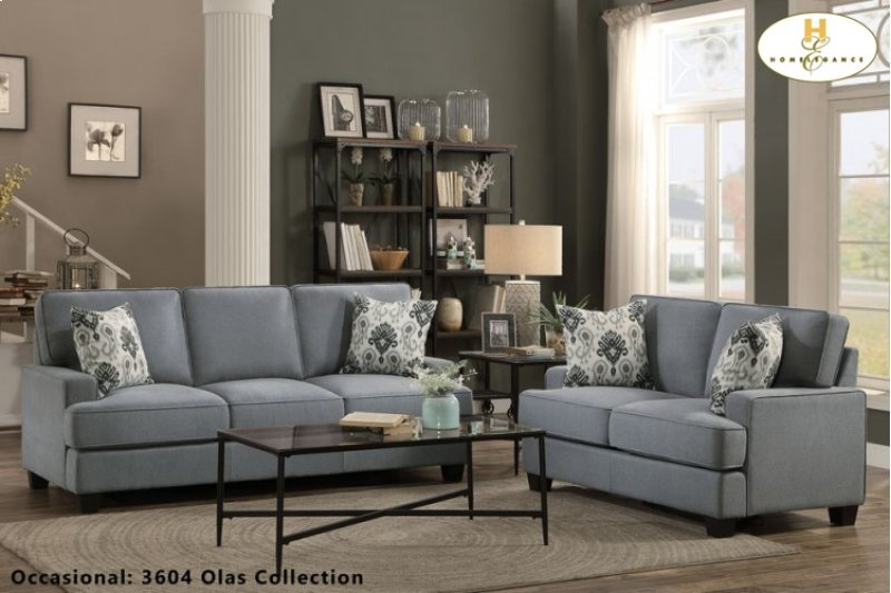 8245GY3SL in by Homelegance in Billings MT Sofa with Sleeper