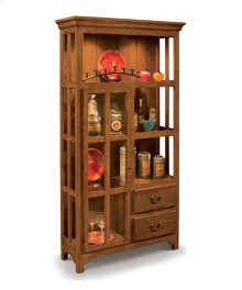 70062 NEW HAVEN DISPLAY CABINET