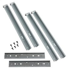 Mounting Channel/Brackets for single packs (2 channels, 4 brackets)