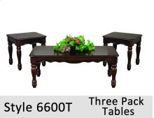 6600T - 6600 Tables