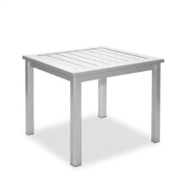 """17"""" Side Table/Bench - Metal"""