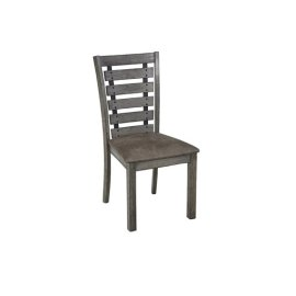Dining Chair (2/Ctn) - Harbor Gray Finish