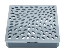 Mountain Re-Vive - Designer Series Flow Shower Grid (Plastic Sleeve) - Brushed Nickel