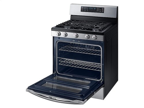 HOT BUY CLEARANCE!!! 5.8 cu. ft. Freestanding Gas Range with 16K and 15K BTU Power Burners