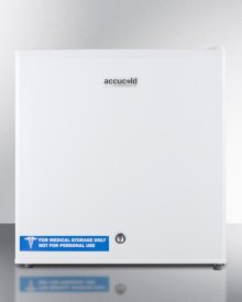 Compact All-freezer for General Purpose Use, Manual Defrost With Lock