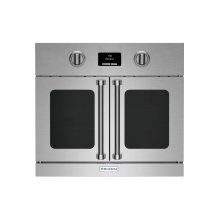 """30"""" Electric Wall Oven with French Doors"""
