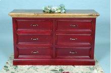 """#404 Williamsburg Dresser 53.5""""wx18.5""""dx33.5""""h"""