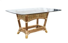 Dining Table, Available in Natural Finish Only.