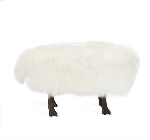 Jacques Sheep Sculpture/ Stool