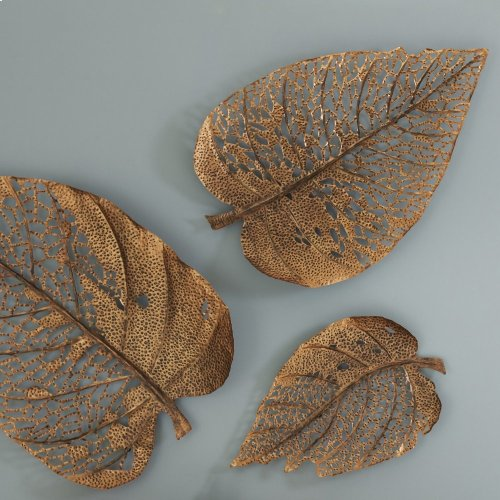 Birch Leaf Wall Art, Copper, MD