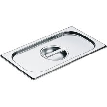 DGD 1/3 Stainless steel lid with handle for steam oven pan
