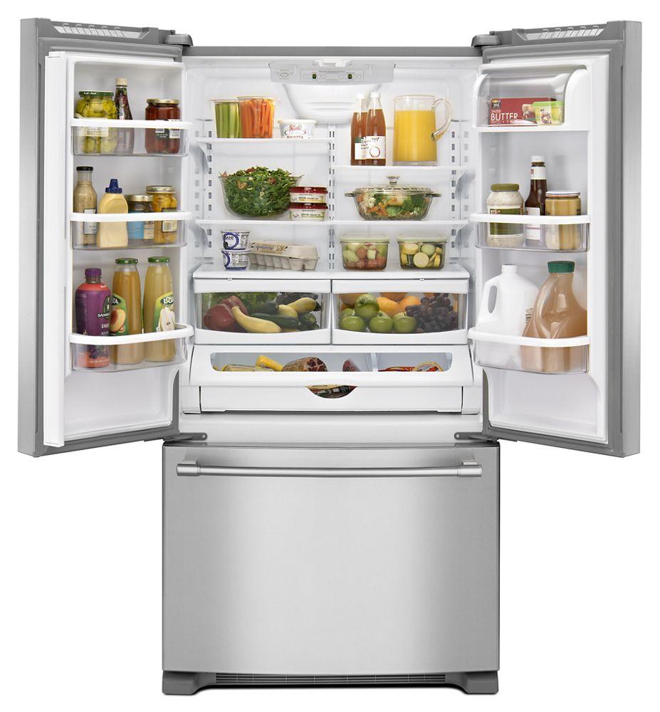 MFF2258FEZMaytag 33Inch Wide French Door Refrigerator 22 Cu Ft