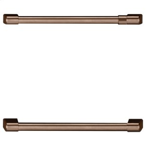 CafeUndercounter Refrigeration Handle Kit - Brushed Copper