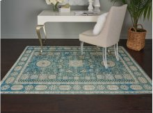 Madera Mad03 Teal Rectangle Rug 2'3'' X 3'9''