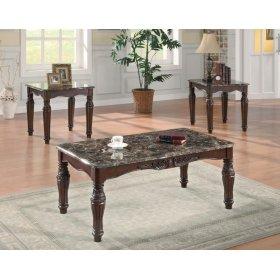Traditional Brown Three-piece Set