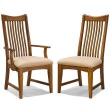Pasadena Revival Slat Back Side Chair