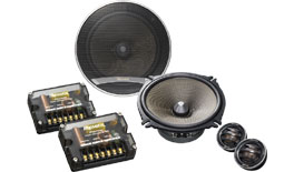 "Premier 6-3/4"" Component Speaker Package with 260 Watts Max. Power"