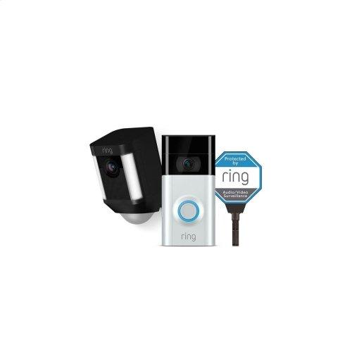 Doorbell Camera Kit - Black