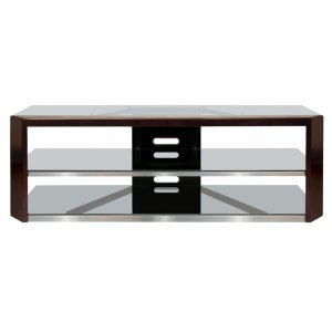 Bell'oNo Tools Assembly Dark Espresso Wood Frame A/V Furniture