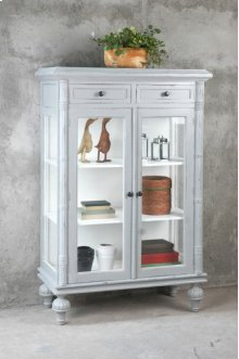 Sunset Trading Lighted Cottage Cabinet