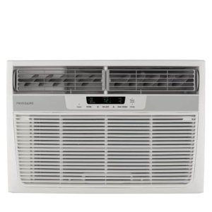 Frigidaire AC 12,000 BTU Window-Mounted Room Air Conditioner with Supplemental Heat