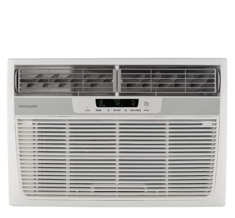 Frigidaire 12 000 Btu Window Mounted Room Air Conditioner With Supplemental Heat