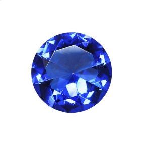 Decorative Glass Diamond, Blue