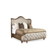 Continental Queen Shelter Bed - Weathered Nutmeg