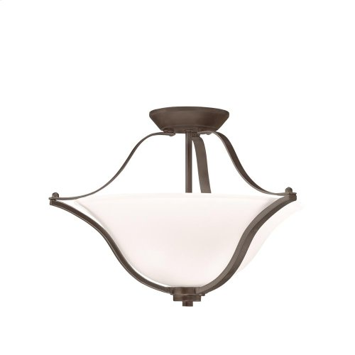 Langford Collection Langford 2 Light Semi Flush Ceiling Light OZ