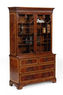 Late Regency Mahogany Glazed Display Cabinet