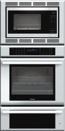 Masterpiece Series 30 inch Combination Wall Oven MEMCW301ES - Stainless Steel