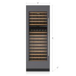 "SUB-ZERO30"" Designer Wine Storage - Panel Ready"