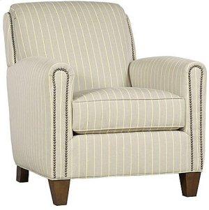 Austin Fabric Chair, Austin Ottoman (Not Shown)